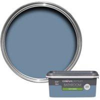 Colours Bathroom Blue Thistle Soft Sheen Emulsion Paint 2.5L