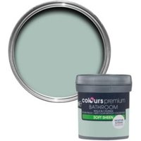 Colours Bathroom Eau de nil Soft sheen Emulsion paint 0.05L Tester pot