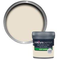 Colours Bathroom Ivory Soft Sheen Emulsion Paint 0.05L Tester Pot