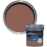Colours Durable Fired Brick Matt Emulsion Paint 0.05L Tester Pot