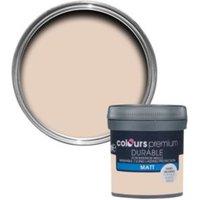 Colours Durable Rose vanilla Matt Emulsion paint 0.05L Tester pot