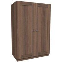 Darwin Walnut Effect 2 Door Wardrobe (H)1506mm (W)998mm