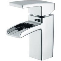 Cooke and Lewis Havasu waterfall 1 Lever Basin mixer tap