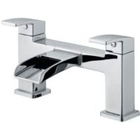 Cooke and Lewis Havasu Waterfall Chrome Bath Filler Tap