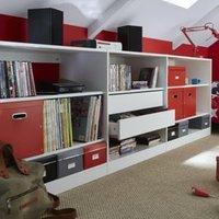 Form Perkin White Office Storage Unit Kit (H)856mm (W)2400mm