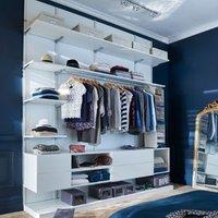 Form Oppen White Large bedroom storage unit kit (H)2083mm