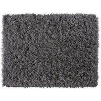 Colours Sapphire Grey Glitter Rug (L)1.6M (W)1.2 M