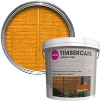 'Colours Timbercare Golden Chestnut Fence & Shed Wood Stain  5l