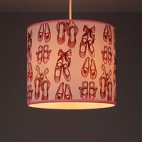 Kids Colours Ballet Shoes Pink & cream Light shade (D)250mm