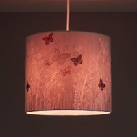 Kids Colours Butterfly Garden Lilac Light shade (D)250mm