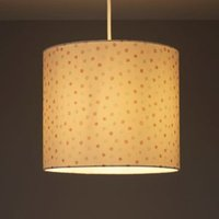 Kids Colours Polka dot Pink Digital print Light shade (D)250mm