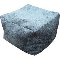 Primeur Elite Plain Bean bag cube Charcoal