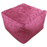 Primeur Elite Plain Bean bag cube Wine