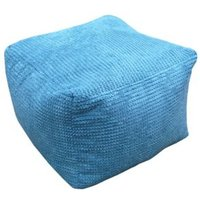 Primeur Bubble Plain Bean bag cube Teal