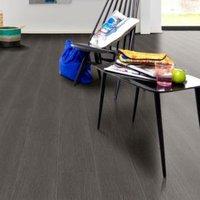 Natural Black oak effect Premium luxury vinyl click flooring 2.16m² Pack