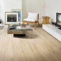 Natural White Oak Effect Premium Luxury Vinyl Click Flooring Sample
