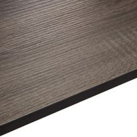 12.5mm Exilis Topia Wood effect Square edge Laminate Worktop (L)2.4m (D)425mm