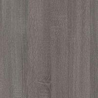 12.5mm Exilis Topia Wood effect Square edge Laminate Worktop (L)1.5m (D)425mm