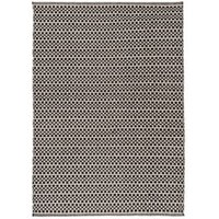 Colours Astrid Black & White Geometric Rug (L)1.7M (W)1.2 M
