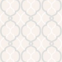 Colours Logan Cream Geometric Wallpaper