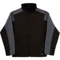 Rigour Black Water repellent Jacket XXL