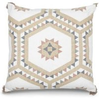 Hexagon Multicolour Cushion