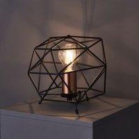 Geo Geometric Black Table lamp