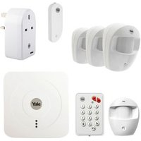 Yale Wireless Smart Home Starter Alarm with Accessories Bundle