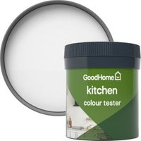 GoodHome Kitchen Alberta Matt Emulsion paint 0.05L Tester pot