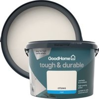 GoodHome Durable Ottawa Matt Emulsion paint 2.5L