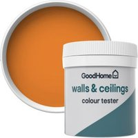 GoodHome Walls & ceilings Valencia Matt Emulsion paint 0.05L Tester pot