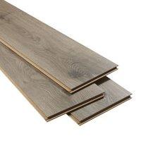 Oldbury Grey Oak effect Laminate Flooring Sample