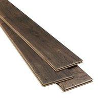 Orford Grey Oak effect Laminate Flooring Sample