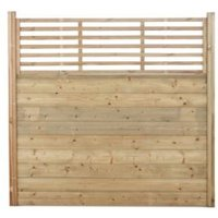 Blooma UC4 Fine sawn Pine Fence posts (H)1m (W)70 mm