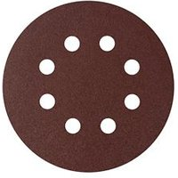 Universal Fit 120 grit Sanding sheet (L)125mm (Dia)125mm Pack of 5
