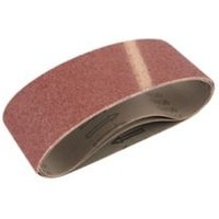 Universal Fit 120 grit Sanding belt (W)76mm (L)457mm Pack of 3