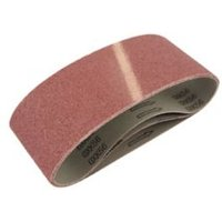 Universal Fit 120 grit Sanding belt (W)76mm (L)533mm Pack of 3