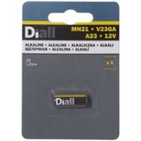 Diall Alkaline batteries Non-rechargeable MN21 Battery Pack of 1.