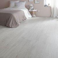 Geelong Grey Oak effect High-density fibreboard (HDF) Laminate Flooring Sample