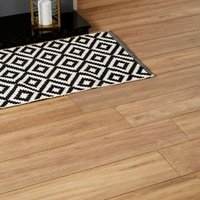 Devonport Natural Oak effect Laminate Flooring Sample