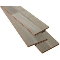 Addington Grey Oak effect Laminate Flooring Sample