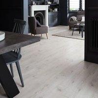 Bilston White Oak effect Laminate Flooring Sample