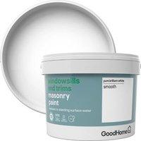 GoodHome Windowsills and trims Pure brilliant white Smooth M