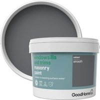 GoodHome Windowsills and trims Oakland Smooth Matt Masonry paint  2.5L