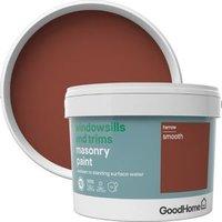 GoodHome Windowsills and trims Harrow Smooth Matt Masonry paint  2.5L