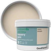 GoodHome Windowsills and trims Campinas Smooth Matt Masonry paint 2.5L