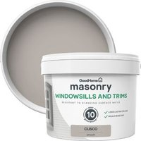 GoodHome Windowsills and trims Cusco Smooth Matt Masonry pai