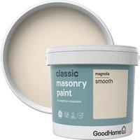 GoodHome Classic Magnolia Matt Masonry paint  5L