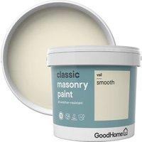 GoodHome Classic Vail Smooth Matt Masonry paint  5L