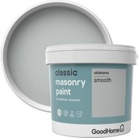 GoodHome Classic Oklahoma Smooth Matt Masonry paint  5L